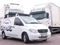 Transportfordon i olika storlekar
